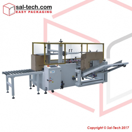 STEP K-40H18 Carton Forming and Bottom Sealing Machine