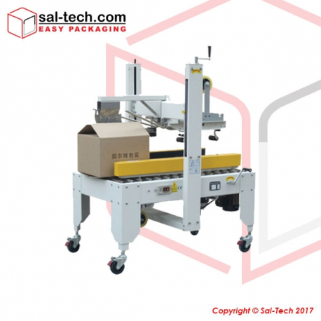 STEP C-50 Semi Auto Flaps Folding Carton Sealer