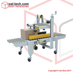 STEP A-50P Side and Top Belts Driven Carton Sealer