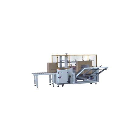 STEP K-40 Carton Erector and Bottom Sealing Machine
