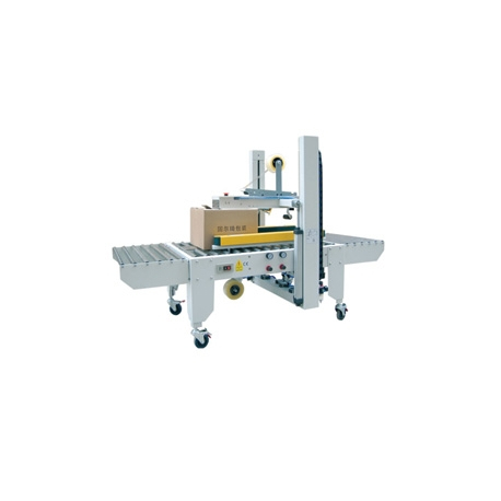 STEP E-50 Automatic Side Belts Driven Carton Sealer