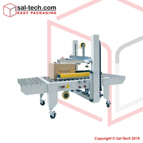 STEP E-50P Automatic Top and Side Belt Driven Carton Sealer