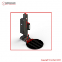 STEP MODEL 500 Semi Automatic Turntable Pallet/Stretch Wrapper with Cutting System and Clamp
