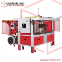 STEP TP-702CCQ Corrugated Strapping Machines with 3-Sides Squaring Function