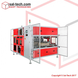 STEP TP CIL Transcorrliner Corrugated Industry Inline Strapping Machine