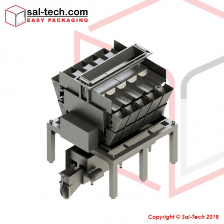 STEP 10 Head Linear Potato Weigher
