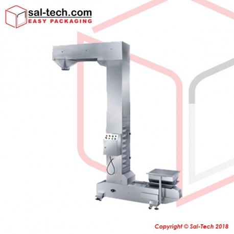 STEP Z-Shaped Conveyor with Vibration Hopper