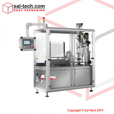 STEP Rotary Coffee Capsule Filling Line