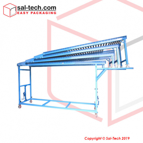 STEP Gravity Roller Conveyor for Unloading