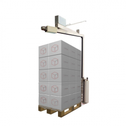 E3 Wrap 2100 Semi-Automatic Pallet Wrapper with Height Sensor
