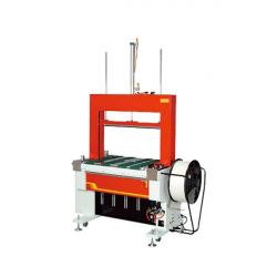 STEP TP-601BP Fuldautomatisk Strapping Machine med Bælte-Drevet Tabel og Pneumatisk Tryk