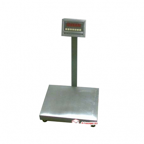 Floor scale 150kg Stainless