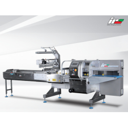 STEP FAT-60 Flow Pack Machine for Pizza and larger products