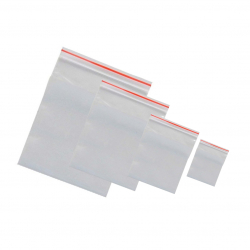 Zipper Bags with Writing Field