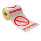 Etiket - Do not Stack