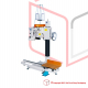 STEP FB-N980AC Sækkesymaskine med  transfer skamle