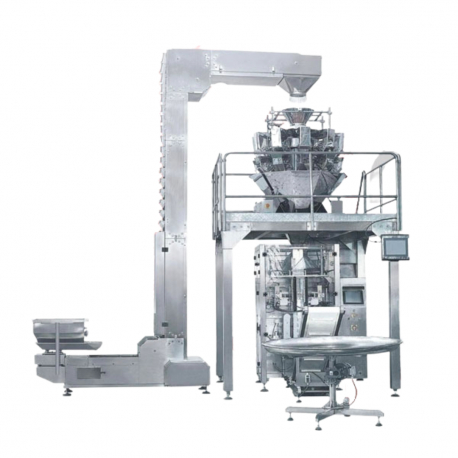 Full Set STEP SK-620TDT Quad Sealed Pouch Packaging Machine