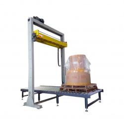 STEP L3DSD2 Fuldautomatisk Dobbelt Rotary Arm Stretch Wrapper med Top Sheet Dispenser