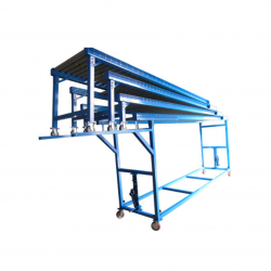 STEP Gravity Roller Conveyor for Unloading