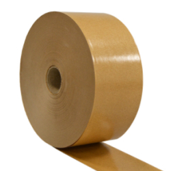 Gummed Paper 60mmx 200m Brown 70gram paper