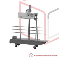 STEP-1300 InkPrint båndsvejser Vertikal med Print Rustfrit