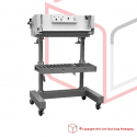 STEP PFS 750 Large Impulse Sealer with stand Stainless