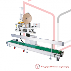 STEP FAC-N980AC Bag Closing Machine with conveyor