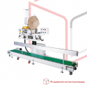 STEP FAC-N980AC Bag Closing Machine with conveyor