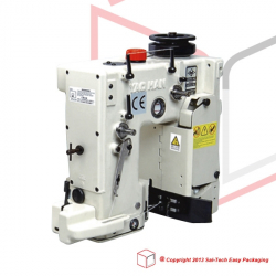 STEP N980AC Bag Closing Machine 1 needle 2 threads, paper tape and knife
