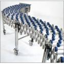 Flexbane 500mm bred x 1,2-4,8m max - 5 ruller per aksel