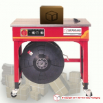 STEP TP-502CE Strapping machine with eletrical adjust of tension