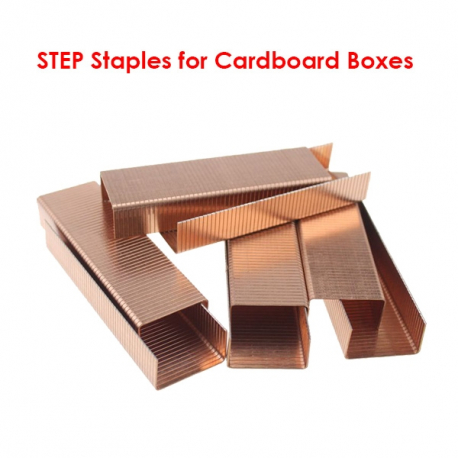 STEP Staples for Cardboard Boxes