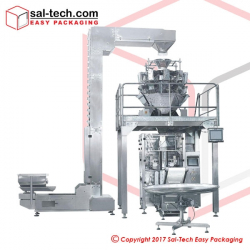 STEP SK-620TDT Quad Sealed Pouch Packaging Machine FULL SET