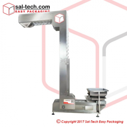 Z Type Material Elevator with Vibrating Feeding