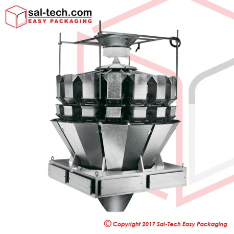 16 Head Salad Weigher with screw function (5.5L)