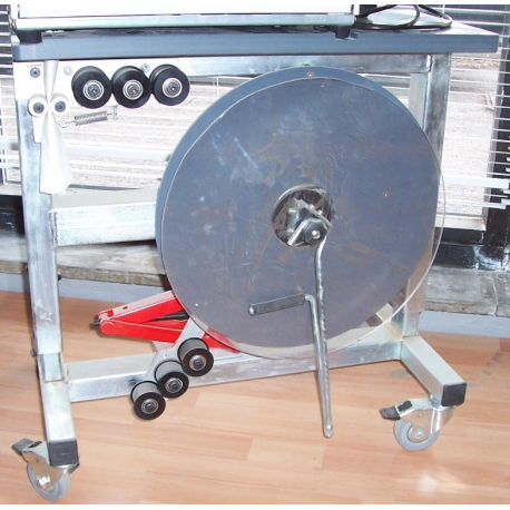 STEP Band 800 Jumbo Dispenser Banding Machine