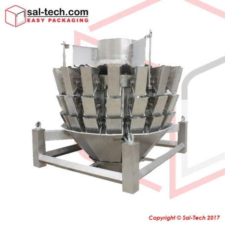 STEP 16 Triple Layer Multihead Weigher 2.0L Memory Bucket