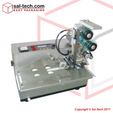 STEP DH-22 Doy Bag Ribbon Type Labelling Machine