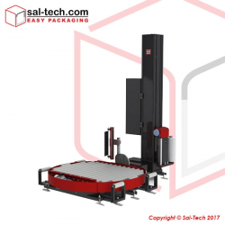 STEP Model TRM500L Automatic Turntable Pallet Wrapper