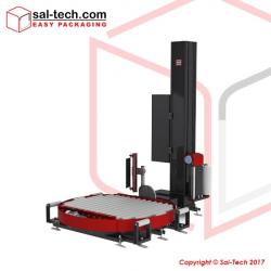 STEP Model TRM500L Automatisk Drejeskive Palleomvikler