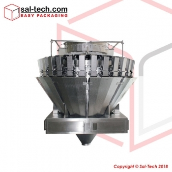 Multihead Weigher, Form, Fill and Seal