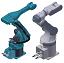STEP Robotics, Robotter & Gribere