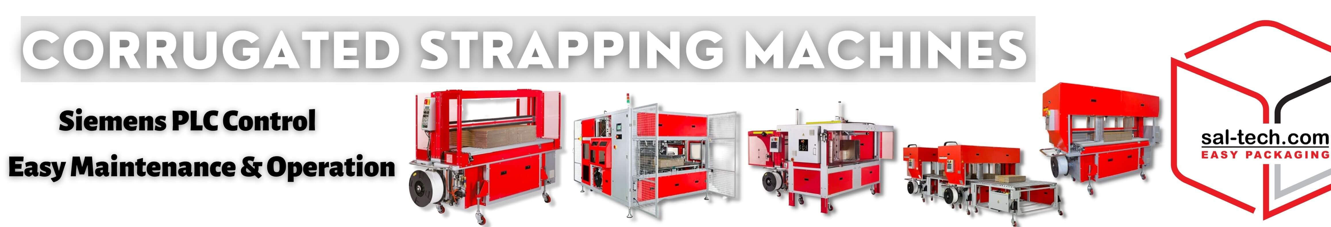 CORRUGATED STRAPPING MACHINES