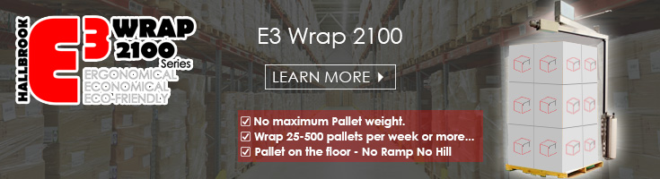 E3 Wrap 2100 Pallet Wrapper