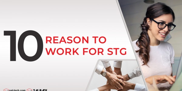 10 Reasons to Work for STG